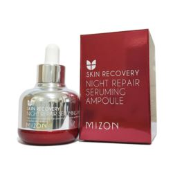 Naprawcze Serum na Noc, Night Repair Seruming Ampoule, Mizon, 30ml