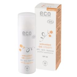 Krem CC SPF50 do Cery Jasnej, Eco Cosmetics, 50 ml