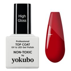 Top Coat High Gloss do paznokci, Yokubo, 10 ml