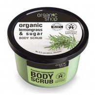 Organic Shop Body scrub Provence lemongrass