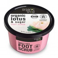 Lotos, Cukrowy Scrub do Stóp, 250ml